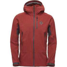 Black Diamond Dawn Patrol Shell Jas Heren, red oxide